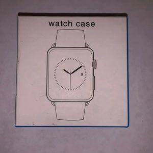 Apple Watch 4 or 5 44mm Clear Case w Bumper